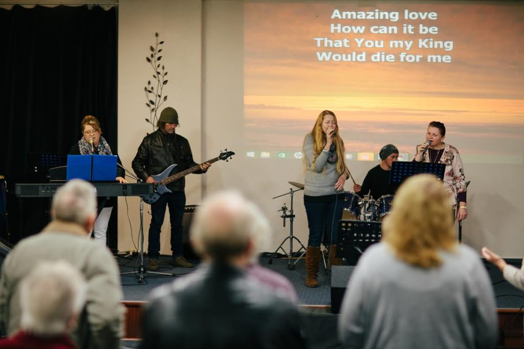 Join us for vibrant, joyful, spirit filled worship on Sundays at 10am.