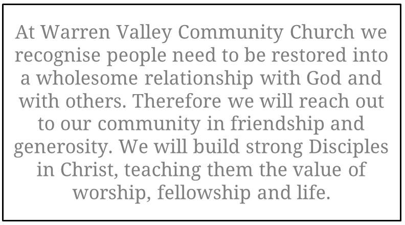 Warren Valley Church Vision